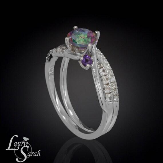 Rainbow Mystic Topaz Ring Mystic Topaz Ring By