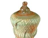 Ceramic Sculpture  - Handmade Pottery Work of Art - Wheel Thrown Stoneware Art Centerpiece - Ships Today