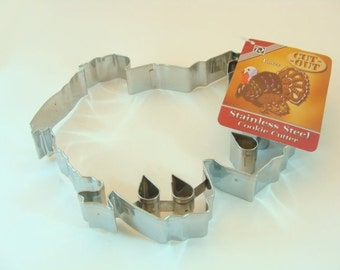 Delux Cut-out Turkey 7 inch Cookie Cutter