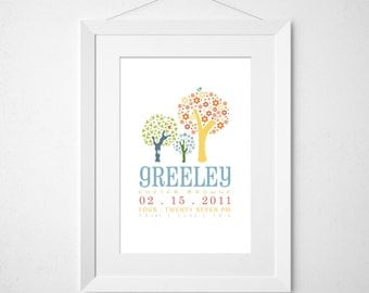 the greeley bird  - birth announcement