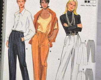 Sewing Pattern Burda 3586 Misses' Pants Size 10- 20   Complete Uncut