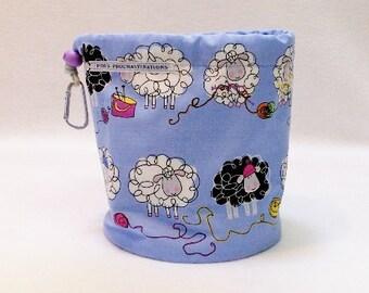 Blue Sheep Knit 3 Bag