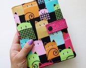 Kindle Voyage Cover Cute Cat Print Hardcover for Kindle Paperwhite ereader case