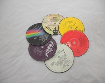 Original Vinyl Record Coasters (Set of 6)