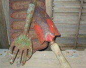 Rustic Garden Tools Farmhouse