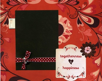 Togetherness is Happiness - Premade Scrapbook Page