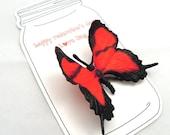 Love Bug Valentine Day Cards - Set of 3 Valentine Cards for Kids