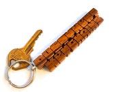 Walnut Wood 2-Liner Keych...
