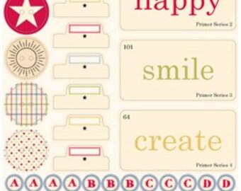 Jenni Bowlin Studio Hodge Podge Stickers Playful