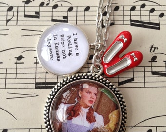 Wizard of Oz inspired necklace