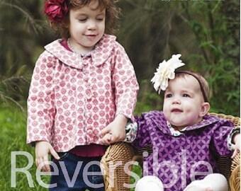 Reversible Baby Jacket Sewing Pattern