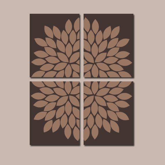 Wall Art Canvas Brown : Brown wall art bedroom pictures canvas or prints by trmdesign