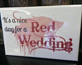 Game of Thrones Red Wedding refrigerator magnet SALE