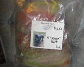 blended wool batt