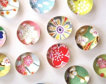 Mixed Bag- set of 8 Glass Magnets