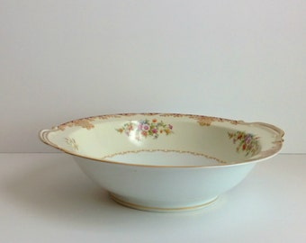 vintage Noritake Mystery serving bowl Occupied Japan 1940s