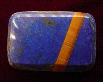 Lapis Lazuli / Tiger-Eye Buckle