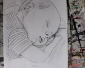 Custom Portrait - Pencil Drawing of Your Baby