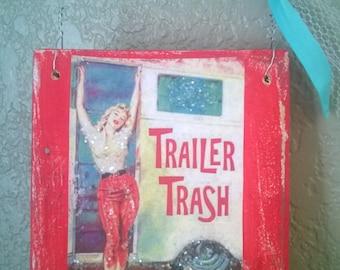 Wood trailer trash | Adult photos)