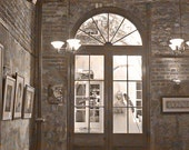 French Quarters New Orleans Photography Sepia Chocolate Wall Decor Fine Art Louisiana NOLA Architecture 5x7 Architecture Photograph