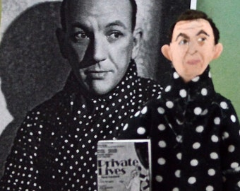 Noel Coward Doll Miniature Art Author and Writer