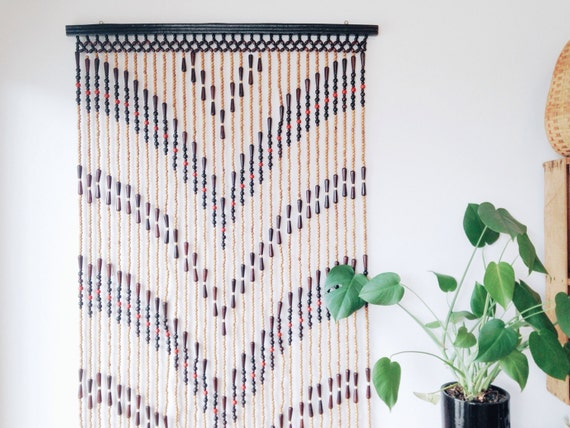 Beaded curtain patterns
