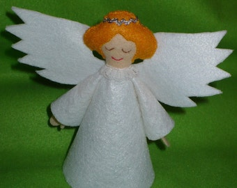 Five and a Half Inch Tree Topper Angel