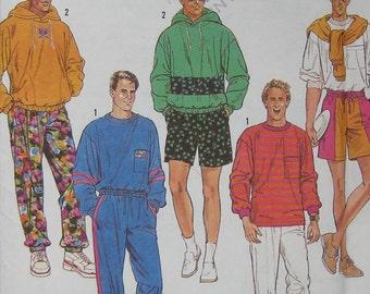 Simplicity Mens Pants Shorts Top Pattern 7073