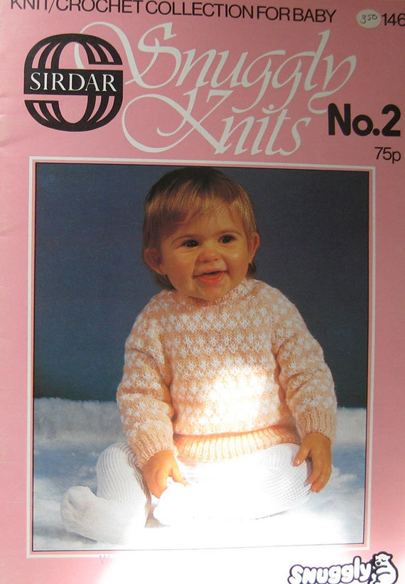 New Baby Knitting Pattern Books : Sirdar Snuggly Knits Baby Knitting Pattern Book