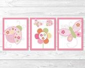 Pink Ladybug Butterfly Nu...