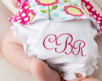 Monogrammed Knit Bloomers