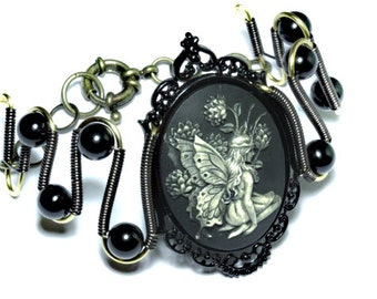 Jewelry - Bracelet - Woodland Fairy Cameo