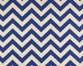 """Royal Blue and White- Zigzag Table Runner Chevron 72"""""""