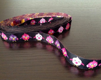 16mm x 1yard (bird) woven ribbon (S708)