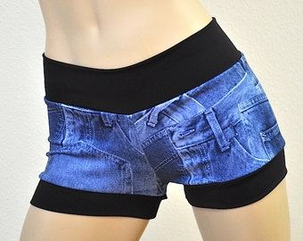 Ultra Low Rise Shorts