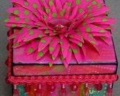 Pink Fiesta Keepsake Decorative Jewelry Box