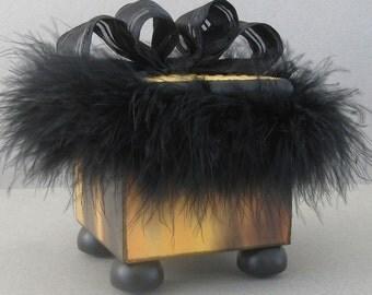 Sultry Fun Fluffy Keepsake Decorative Trinket Box