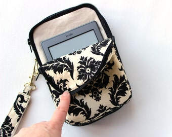 Zip Around Wristlet Tablet Clutch Wallet Made to Order in your fabric choice