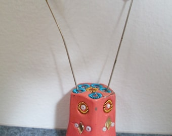 Cloisonne Hat Pin Holder