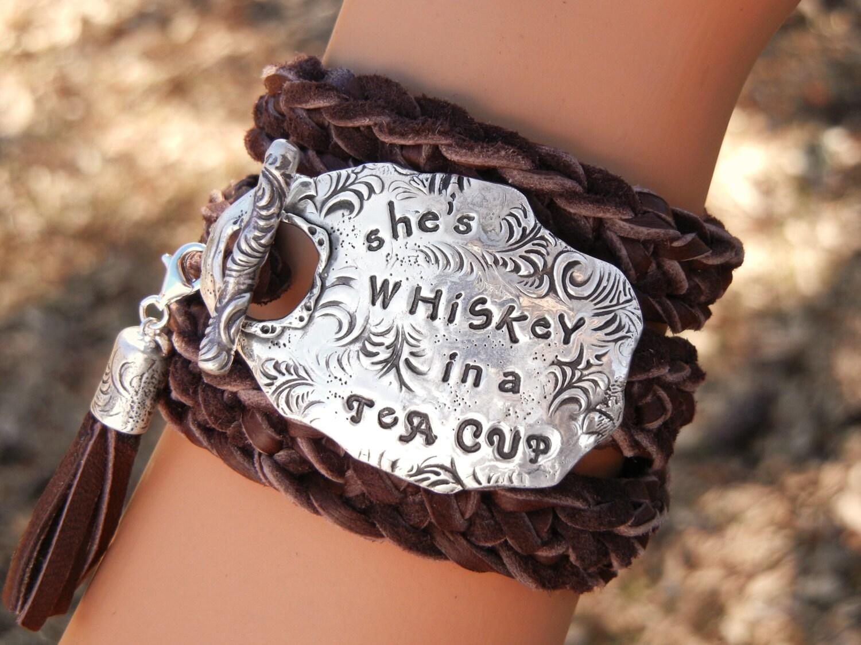 Quote Jewelry Quote Bracelet Quote Leather Wrap Bracelet