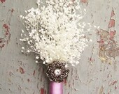RESERVED for LaRae Trejo, Set of 6 Baby's Breath Boutonnieres