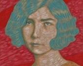 portrait giclee print 8x10