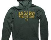Asgard Tricksters Hooded Sweatshirt college athletics football Loki