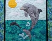 Splash the Dolphin Fusible Applique Pattern
