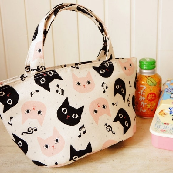 Kawaii Japanese Original Insulated Lunch Tote - Free SHipping