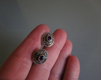 Sterling and Marcasite earrings