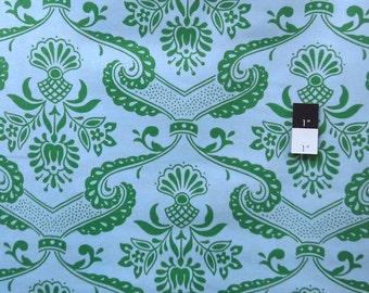 Jennifer Paganelli PWJP072 Circa Lilly Green Cotton Fabric 1 Yard