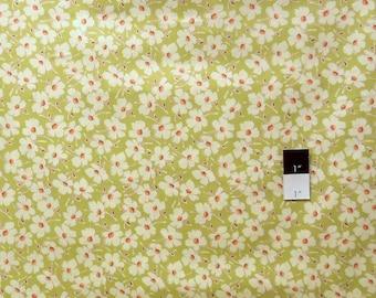 Amy Butler PWAB086 Gypsy Caravan Wind Flowers Linen Cotton Fabric 1 Yard