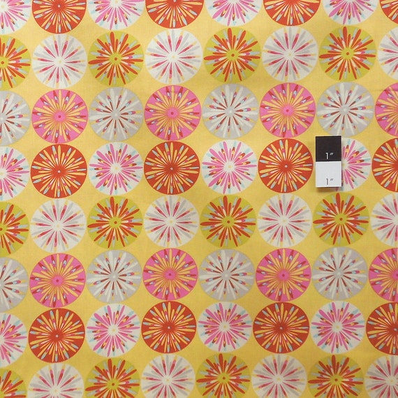 Dena designs df99 kumari garden sashi pink cotton fabric 1 for Kumari garden fabric by dena designs
