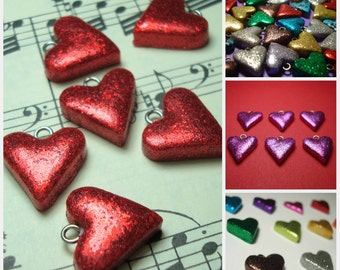 Sweetheart Charms- 16 Colors to Choose From!